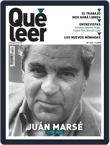 Que Leer Magazine (Digital) August 28th, 2020 Issue Cover