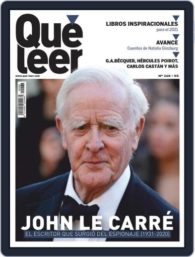 Que Leer Magazine (Digital) January 1st, 2021 Issue Cover