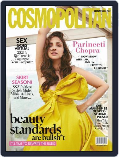 Cosmopolitan India Magazine (Digital) February 1st, 2021 Issue Cover