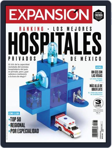 Expansión Magazine (Digital) January 1st, 2021 Issue Cover