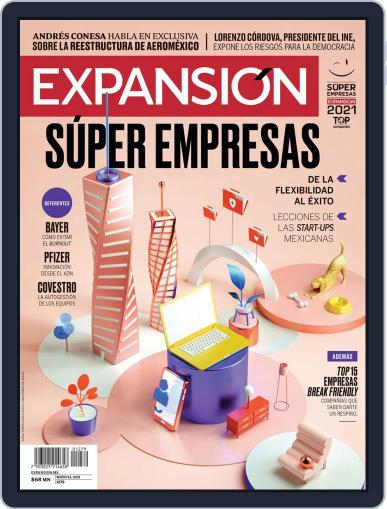 Expansión Magazine (Digital) May 1st, 2021 Issue Cover