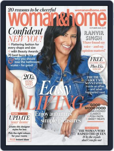 Woman & Home Magazine (Digital) October 1st, 2020 Issue Cover