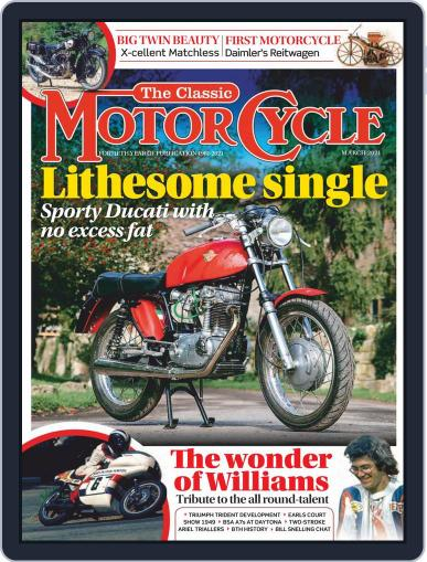 The Classic MotorCycle Magazine (Digital) March 1st, 2021 Issue Cover