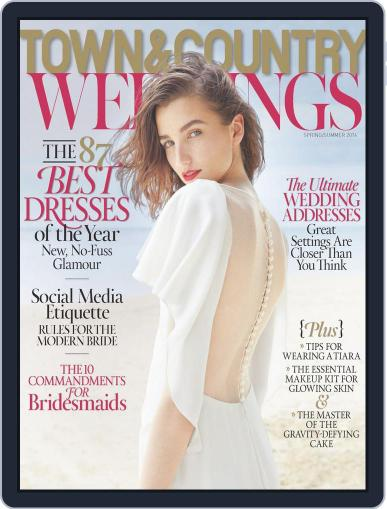 Town & Country Weddings April 1st, 2014 Digital Back Issue Cover