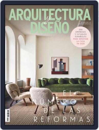 Arquitectura Y Diseño Magazine (Digital) October 1st, 2020 Issue Cover