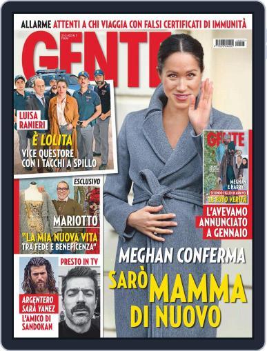 Gente Magazine (Digital) February 27th, 2021 Issue Cover