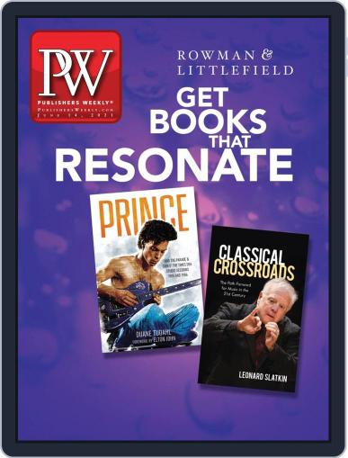 Publishers Weekly Magazine (Digital) June 14th, 2021 Issue Cover
