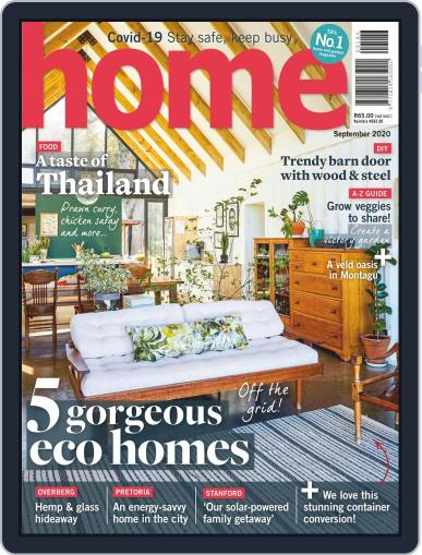 Home Magazine (Digital) September 1st, 2020 Issue Cover