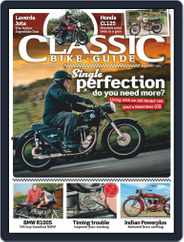 Classic Bike Guide Magazine (Digital) Subscription January 1st, 2021 Issue