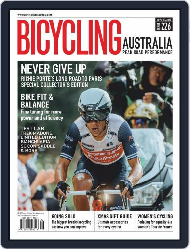 Bicycling Australia Magazine (Digital) November 1st, 2020 Issue Cover