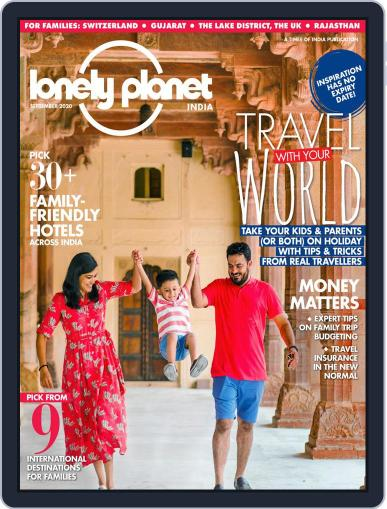Lonely Planet Magazine India Magazine (Digital) September 1st, 2020 Issue Cover