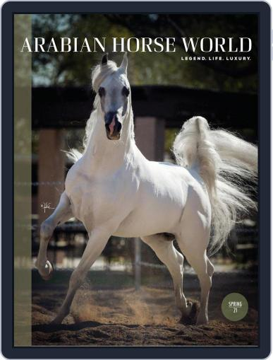 Arabian Horse World Magazine (Digital) April 9th, 2021 Issue Cover