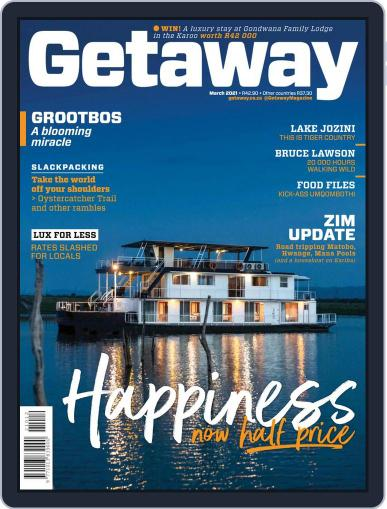 Getaway Magazine (Digital) March 1st, 2021 Issue Cover