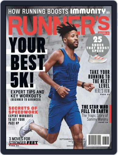 Runner's World South Africa (Digital) September 1st, 2020 Issue Cover