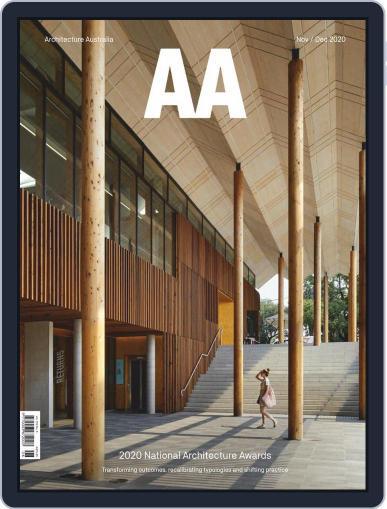 Architecture Australia Magazine (Digital) November 1st, 2020 Issue Cover