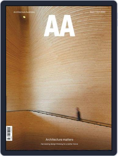 Architecture Australia Magazine (Digital) September 1st, 2020 Issue Cover