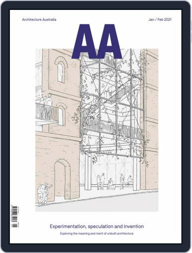 Architecture Australia Magazine (Digital) January 1st, 2021 Issue Cover