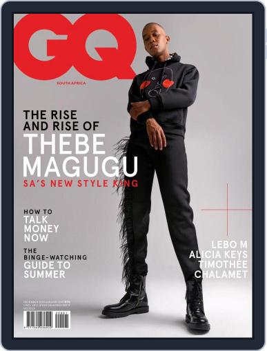 GQ South Africa Magazine (Digital) December 1st, 2020 Issue Cover