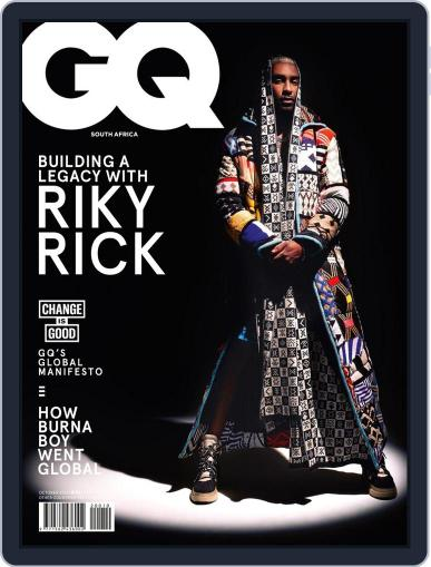 GQ South Africa Magazine (Digital) October 1st, 2020 Issue Cover