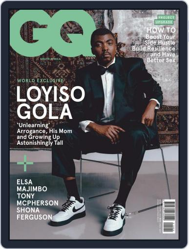 GQ South Africa Magazine (Digital) March 1st, 2021 Issue Cover