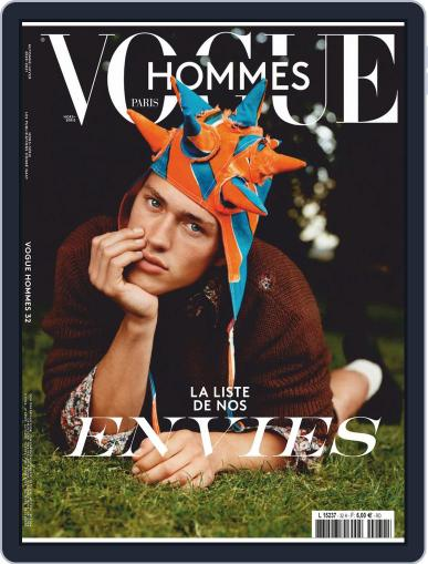 Vogue Hommes Magazine (Digital) September 1st, 2020 Issue Cover