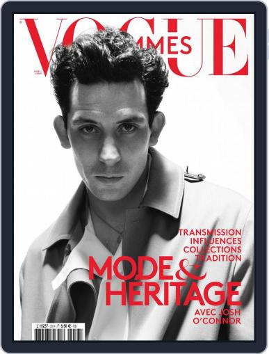 Vogue Hommes Magazine (Digital) April 1st, 2021 Issue Cover