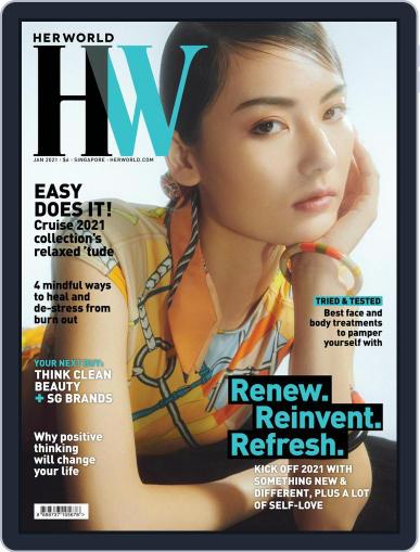 Her World Singapore Magazine (Digital) January 1st, 2021 Issue Cover