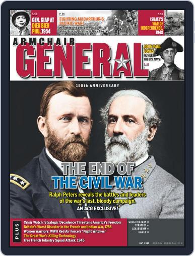 Armchair General (Digital) March 3rd, 2015 Issue Cover