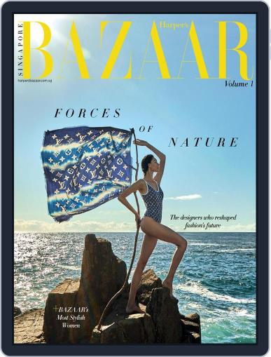 Harper's Bazaar Singapore Magazine (Digital) December 1st, 2020 Issue Cover