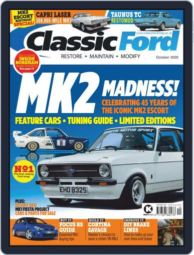 Classic Ford Magazine (Digital) October 1st, 2020 Issue Cover