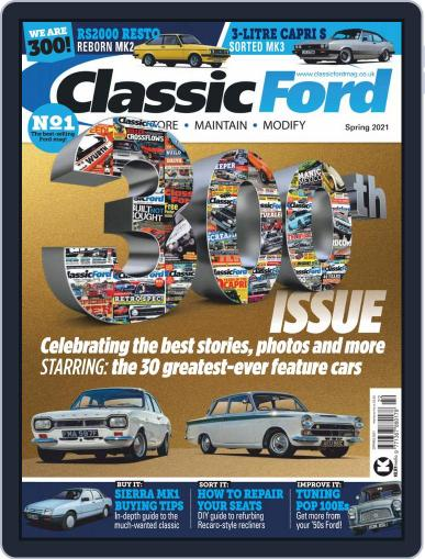Classic Ford Magazine (Digital) March 15th, 2021 Issue Cover