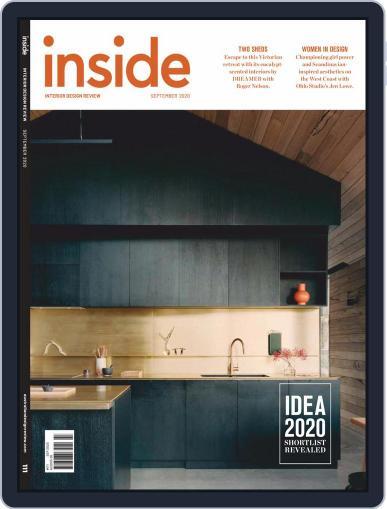 (inside) interior design review Magazine (Digital) September 1st, 2020 Issue Cover