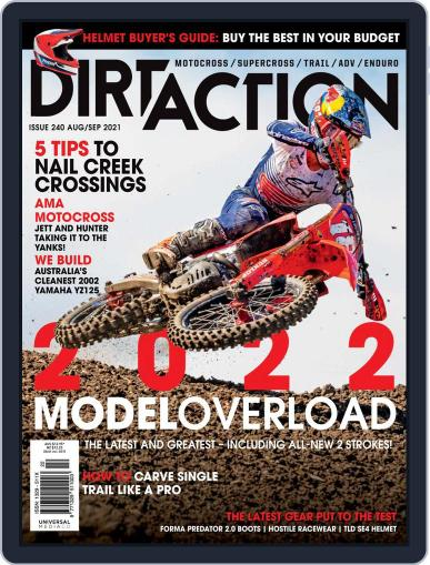 Dirt Action Magazine (Digital) August 1st, 2021 Issue Cover