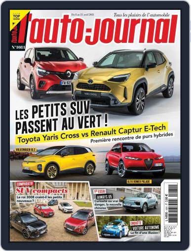 L'auto-journal Magazine (Digital) April 8th, 2021 Issue Cover