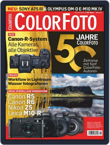 Colorfoto Magazine (Digital) October 1st, 2020 Issue Cover