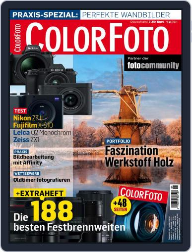 Colorfoto Magazine (Digital) January 1st, 2021 Issue Cover