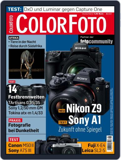 Colorfoto Magazine (Digital) May 1st, 2021 Issue Cover