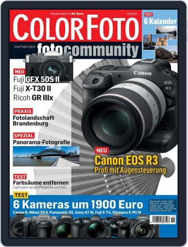 Colorfoto Magazine (Digital) November 1st, 2021 Issue Cover