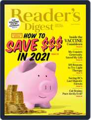 Reader's Digest Canada Magazine (Digital) Subscription January 1st, 2021 Issue