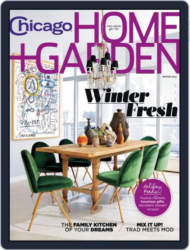 Chicago Home + Garden October 24th, 2012 Digital Back Issue Cover