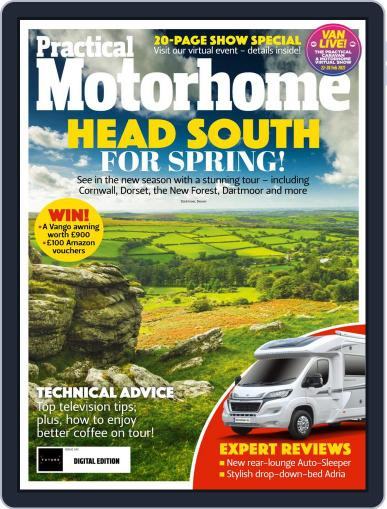 Practical Motorhome Magazine (Digital) April 1st, 2021 Issue Cover