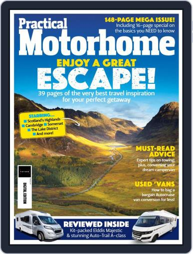 Practical Motorhome Magazine (Digital) August 1st, 2021 Issue Cover