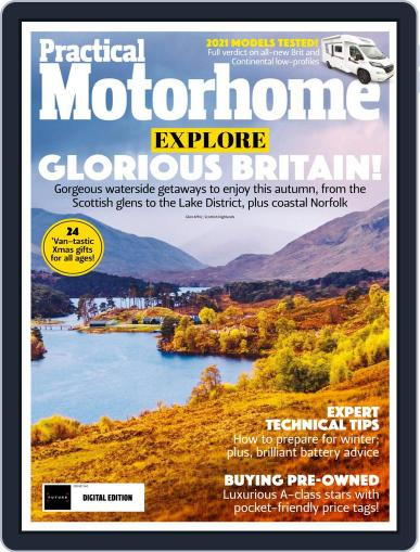 Practical Motorhome Magazine (Digital) January 1st, 2021 Issue Cover