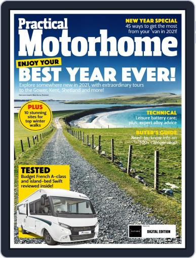 Practical Motorhome Magazine (Digital) March 1st, 2021 Issue Cover