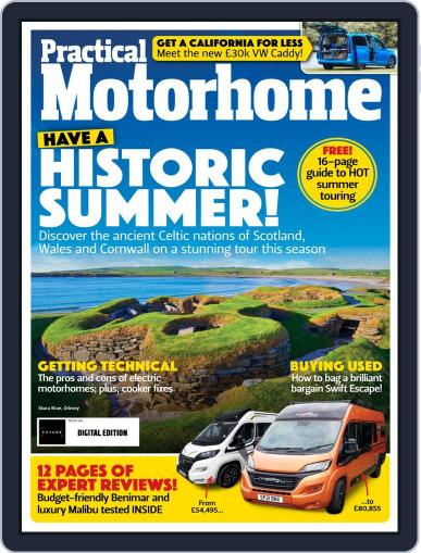 Practical Motorhome Magazine (Digital) September 1st, 2021 Issue Cover