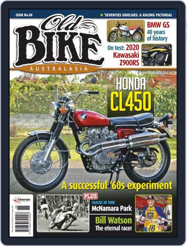 Old Bike Australasia Magazine (Digital) July 27th, 2020 Issue Cover