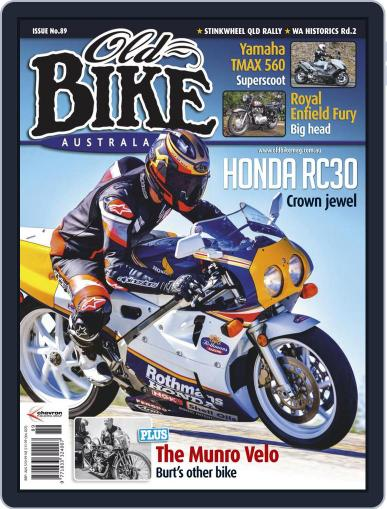 Old Bike Australasia Magazine (Digital) September 13th, 2020 Issue Cover