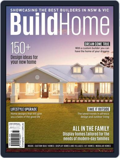 BuildHome Magazine (Digital) March 31st, 2021 Issue Cover
