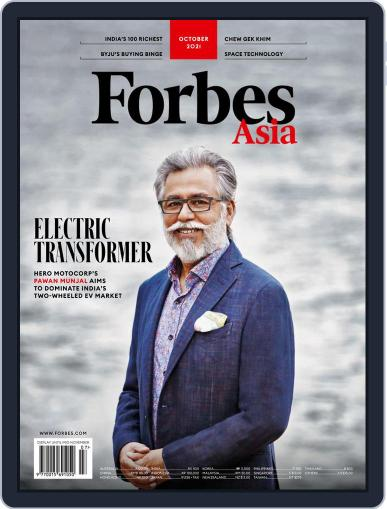 Forbes Asia Magazine (Digital) October 1st, 2021 Issue Cover