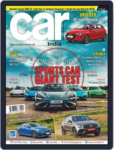 Car India Magazine (Digital) November 1st, 2020 Issue Cover